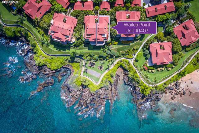 4000 Wailea Alanui Dr #1403, Kihei, HI 96753 (MLS #378723) :: Elite Pacific Properties LLC