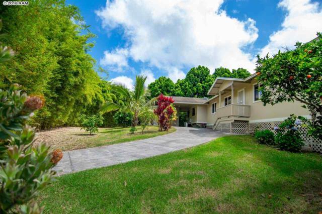 67 Ainakula Rd, Kula, HI 96790 (MLS #378749) :: Elite Pacific Properties LLC