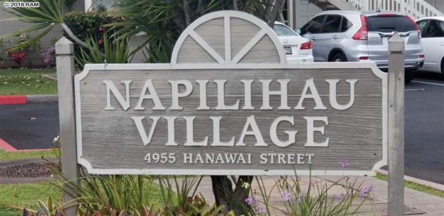 4955 Hanawai St 7-201, Lahaina, HI 96761 (MLS #378780) :: Team Lally
