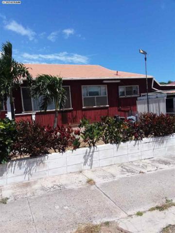 506 Onehee Ave, Kahului, HI 96732 (MLS #378841) :: Elite Pacific Properties LLC