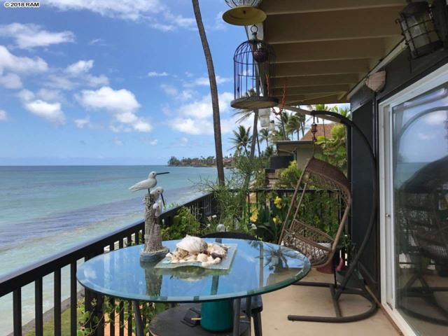 3559 Lower Honoapiilani Rd 5E, Lahaina, HI 96761 (MLS #378874) :: Elite Pacific Properties LLC