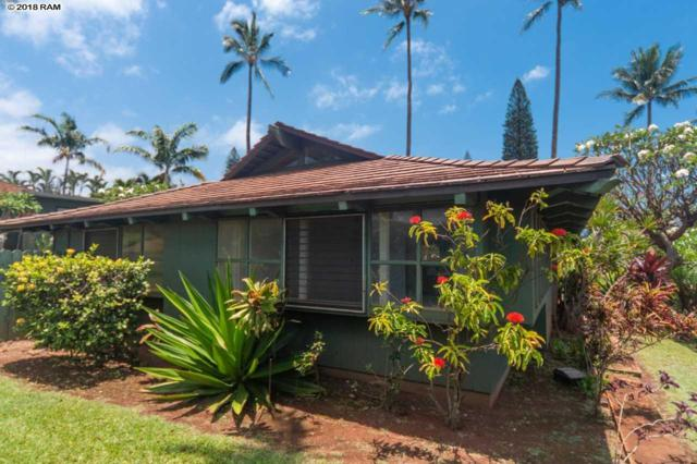 2750 Kalapu Dr Cottage 17, Lahaina, HI 96761 (MLS #378909) :: Elite Pacific Properties LLC