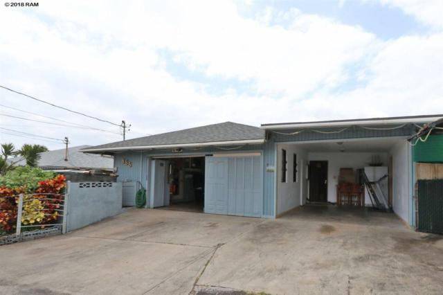 855 Upalu St, Wailuku, HI 96793 (MLS #378915) :: Elite Pacific Properties LLC