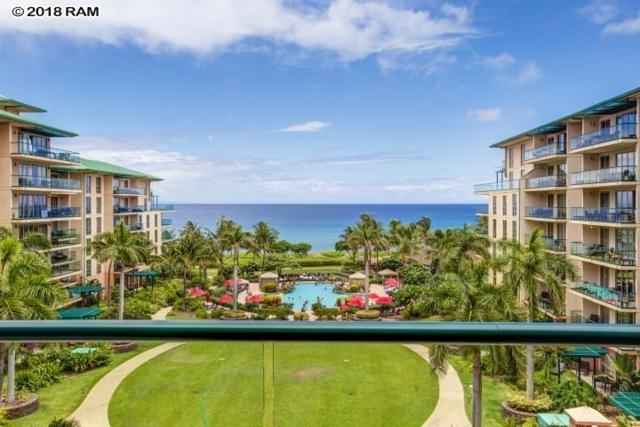 130 Kai Malina Pkwy #529, Lahaina, HI 96761 (MLS #379032) :: Team Lally