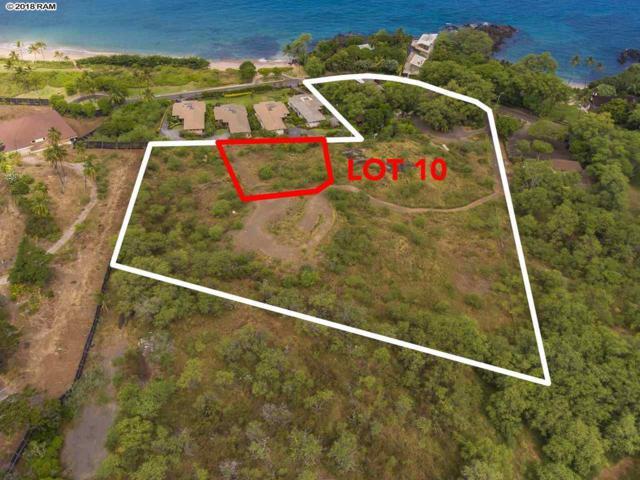 5405 Makena Rd Lot 10, Kihei, HI 96753 (MLS #379072) :: Elite Pacific Properties LLC