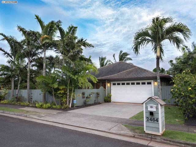 2464 Waipua St, Paia, HI 96779 (MLS #379084) :: Elite Pacific Properties LLC