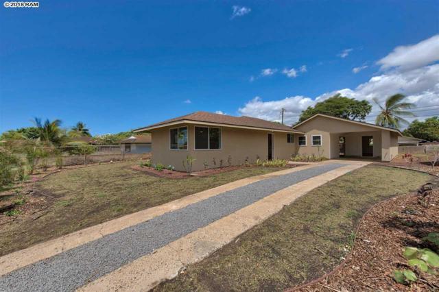 42 E Hawaii St, Kahului, HI 69732 (MLS #379092) :: Elite Pacific Properties LLC