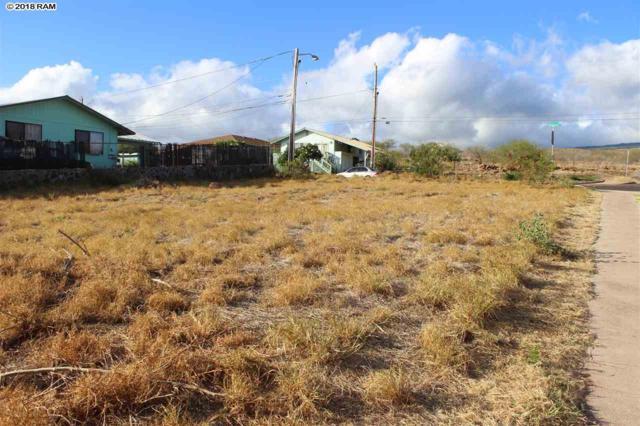 428 Palapalae Pl, Kaunakakai, HI 96748 (MLS #379134) :: Elite Pacific Properties LLC