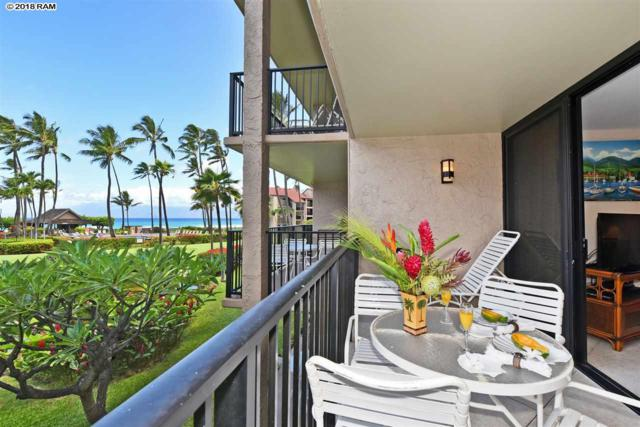 3543 Lower Honoapiilani Rd C-205, Lahaina, HI 96761 (MLS #379183) :: Team Lally