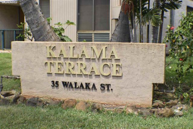 35 Walaka St L-102, Kihei, HI 96753 (MLS #379207) :: Elite Pacific Properties LLC