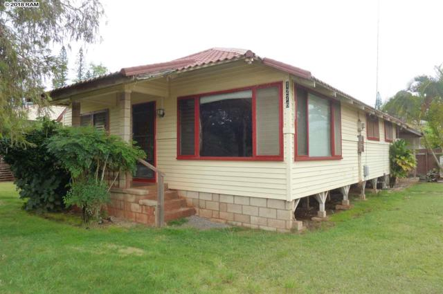 1276 Fraser Ave, Lanai City, HI 96763 (MLS #379249) :: Elite Pacific Properties LLC
