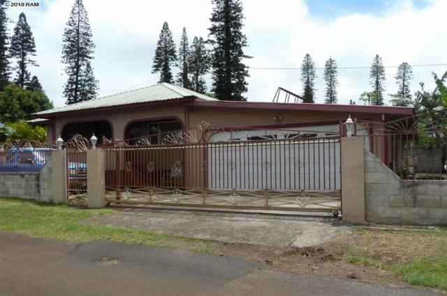 514 Gay St, Lanai City, HI 96763 (MLS #379283) :: Elite Pacific Properties LLC