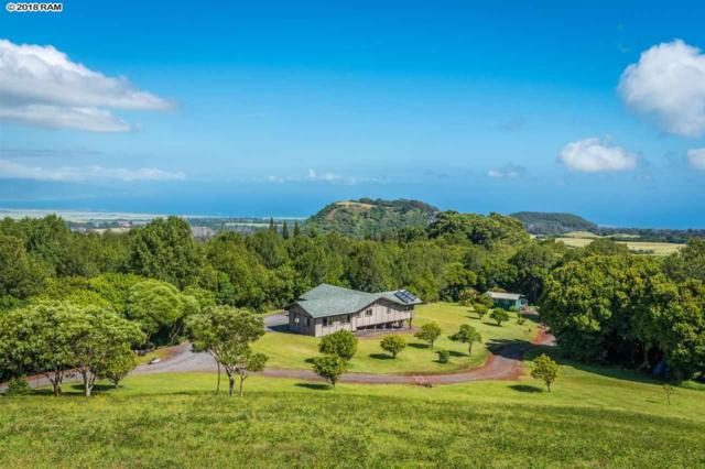 275 Kahakapao Rd, Makawao, HI 96768 (MLS #379408) :: Elite Pacific Properties LLC