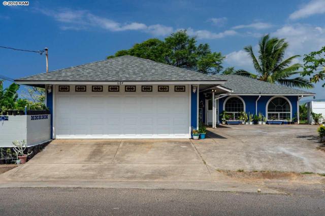 684 Hilinai St 684 Hilinai St, Wailuku, HI 96793 (MLS #379493) :: Elite Pacific Properties LLC