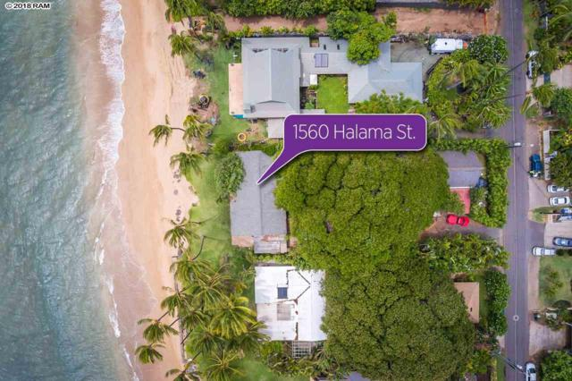 1560 Halama St, Kihei, HI 96753 (MLS #379617) :: Team Lally
