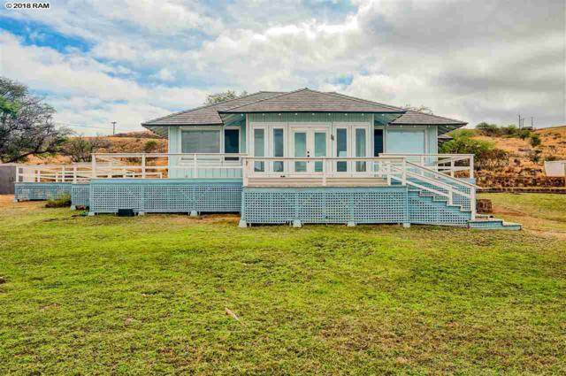 46 Kaumalapau Rd, Lanai City, HI 96763 (MLS #379623) :: Elite Pacific Properties LLC