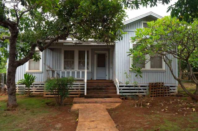 123 Baldwin Ave, Paia, HI 96779 (MLS #379838) :: Elite Pacific Properties LLC