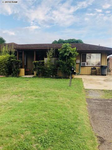 46 E Papa Ave Ave, Kahului, HI 96732 (MLS #379857) :: Elite Pacific Properties LLC