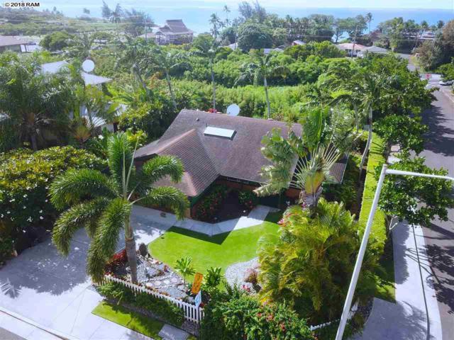 6 Hoe Pl, Paia, HI 96779 (MLS #379861) :: Elite Pacific Properties LLC