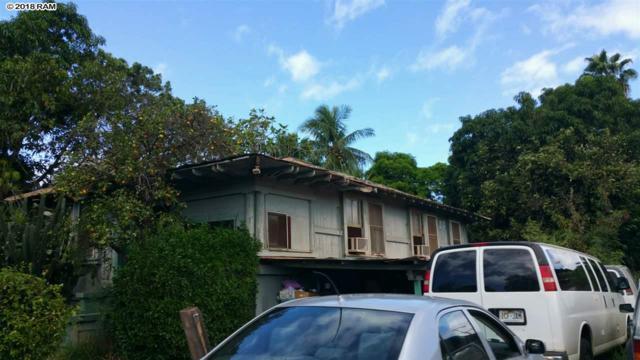 281 Prison St, Lahaina, HI 96761 (MLS #379916) :: Elite Pacific Properties LLC