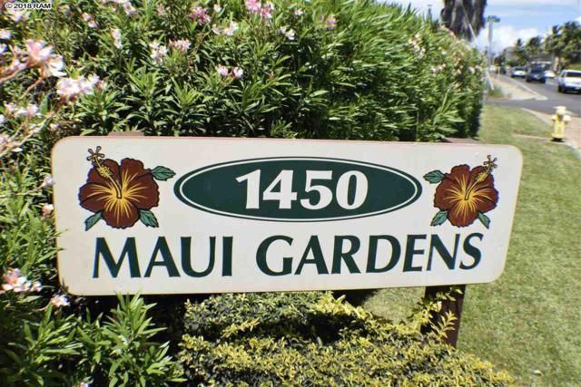1450 S Kihei Rd D 103, Kihei, HI 96753 (MLS #379947) :: Elite Pacific Properties LLC