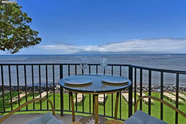 4471 Lower Honoapiilani Rd #218, Lahaina, HI 96761 (MLS #379976) :: Elite Pacific Properties LLC