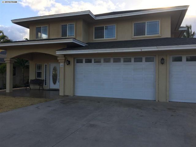 145 Huluhulu St, Kahului, HI 96732 (MLS #380066) :: Elite Pacific Properties LLC