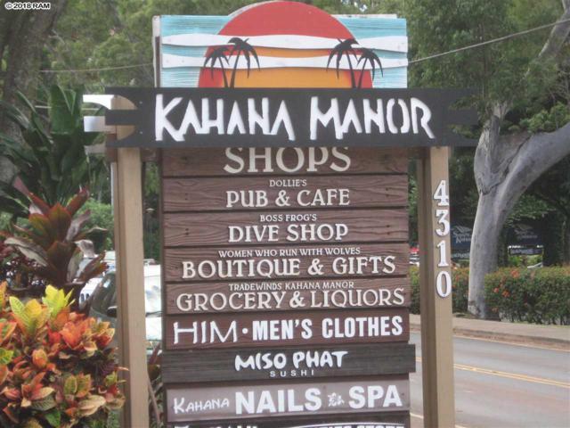 4310 Lower Honoapiilani Rd #211, Lahaina, HI 96761 (MLS #380201) :: Elite Pacific Properties LLC