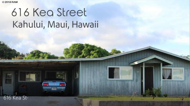 616 Kea St, Kahului, HI 96732 (MLS #380282) :: Elite Pacific Properties LLC