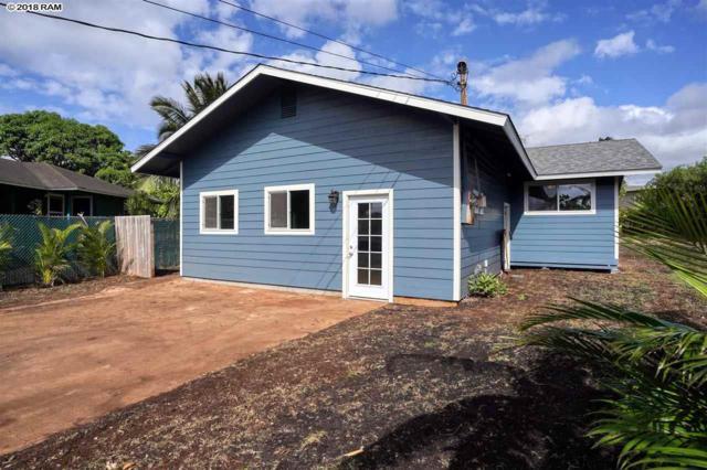 481 Kahua Pl, Paia, HI 96779 (MLS #380287) :: Maui Estates Group