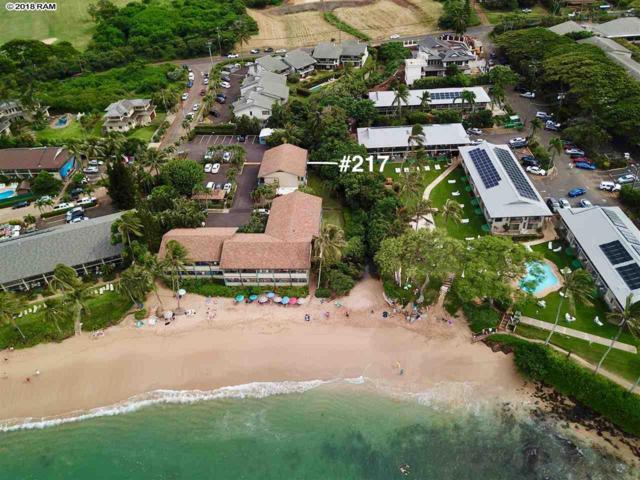33 Hui Dr #217, Lahaina, HI 96761 (MLS #380346) :: Maui Estates Group