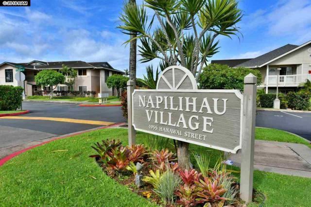 4955 Hanawai St 8-203, Lahaina, HI 96761 (MLS #380514) :: Team Lally
