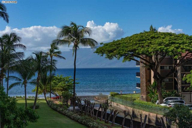 3445 Lower Honoapiilani Rd #318, Lahaina, HI 96761 (MLS #380531) :: Maui Estates Group