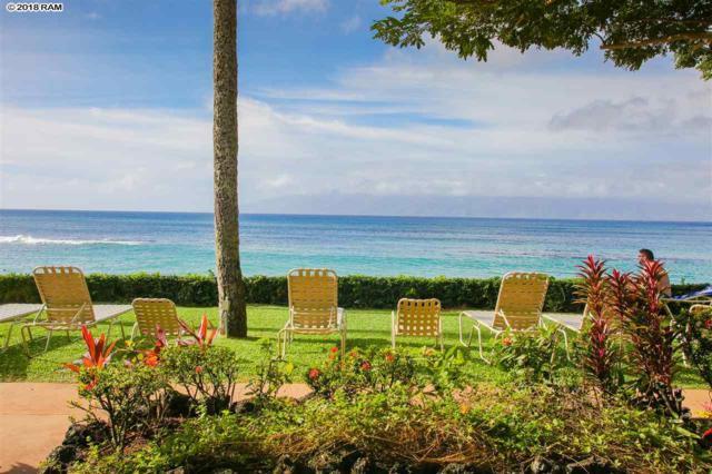 53 Hui Dr #116, Lahaina, HI 96761 (MLS #380537) :: Maui Estates Group