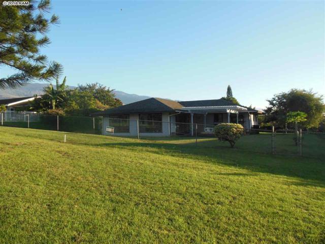 2793 Aina Lani Dr, Pukalani, HI 96768 (MLS #380565) :: Maui Estates Group