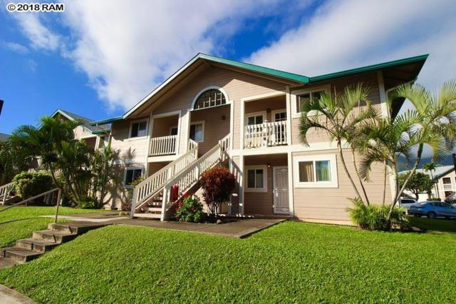 32 Kopi Ln 10-105, Wailuku, HI 96793 (MLS #380582) :: Elite Pacific Properties LLC
