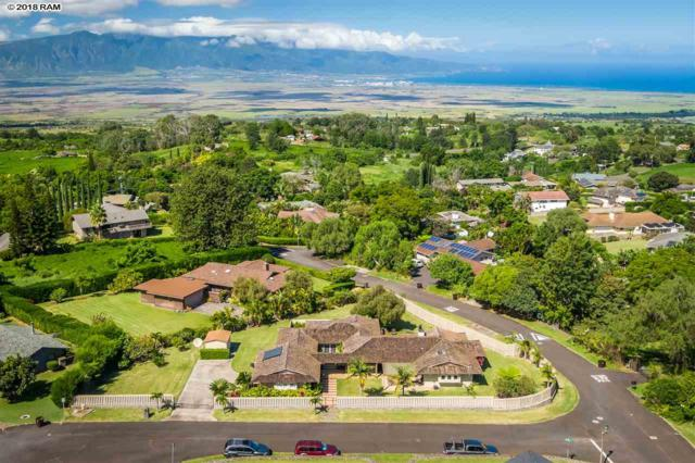 12 Kolokea Way, Kula, HI 96790 (MLS #380607) :: Maui Estates Group