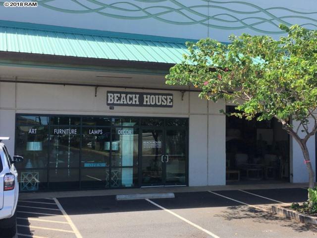 330 Ohukai St #110, Kihei, HI 96753 (MLS #380615) :: Maui Estates Group