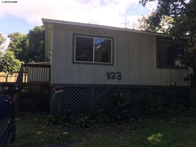 323 W Kuiaha Rd, Haiku, HI 96708 (MLS #380767) :: Elite Pacific Properties LLC