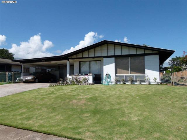 376 Niihau St, Kahului, HI 96732 (MLS #380793) :: Elite Pacific Properties LLC