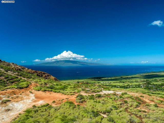 0 Wailau Lot 3, Lahaina, HI 96761 (MLS #380805) :: Maui Estates Group
