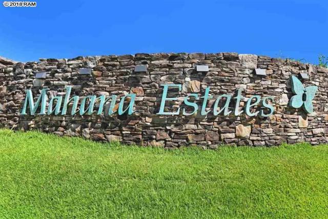 325 Mahana Ridge St #22, Lahaina, HI 96761 (MLS #380896) :: Elite Pacific Properties LLC
