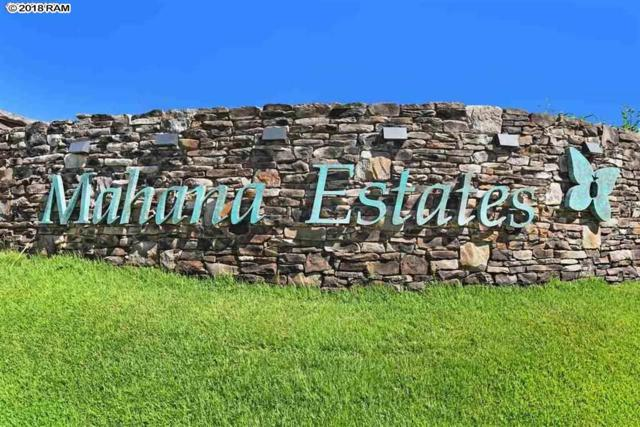 830 Mahana Ridge St #50, Lahaina, HI 96761 (MLS #380898) :: Elite Pacific Properties LLC