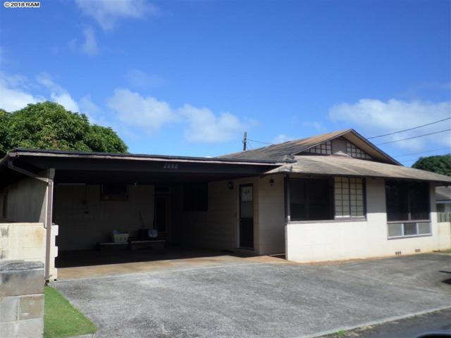 2080 Pakahi St, Wailuku, HI 96793 (MLS #380908) :: Elite Pacific Properties LLC