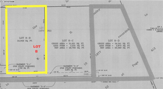 132 Makaena Pl Lot B, Pukalani, HI 96768 (MLS #380975) :: Maui Estates Group