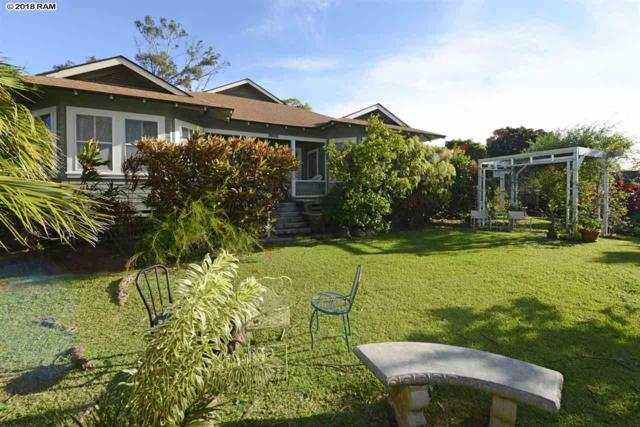 32 Pakani Pl 5A, Makawao, HI 96768 (MLS #381070) :: Maui Estates Group