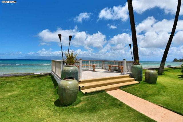 3559 Lower Honoapiilani Rd 6B, Lahaina, HI 96761 (MLS #381084) :: Elite Pacific Properties LLC