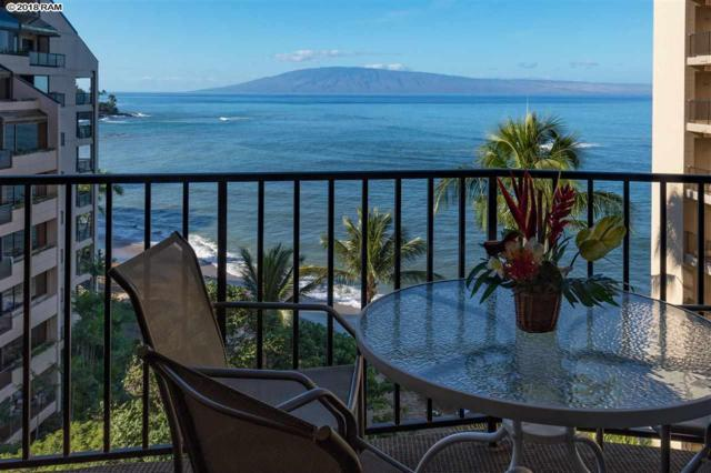 4327 Lower Honoapiilani Rd #902, Lahaina, HI 96761 (MLS #381093) :: Team Lally