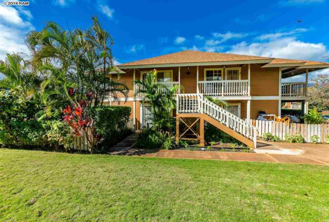 140 Uwapo St 10-104, Kihei, HI 96753 (MLS #381132) :: Team Lally