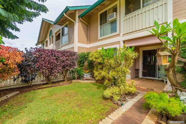 32 Kopi Ln 10-102, Wailuku, HI 96793 (MLS #381183) :: Elite Pacific Properties LLC